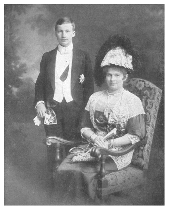 Auguste of Bavaria and son Josef Franz APFxKatenka_Fyodorovna 20July10
