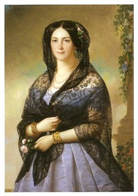 Aurora Karlovna Demidova by A. J. Perignon (location unknown to gogm) From franzxaverwinterhalter.wordpress.com:category:uncategorized: 2