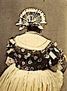Back of Carlota's type of headdress (not Carlota)