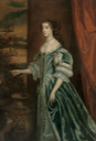 Barbara Villiers (1641-1709), Countess of Castlemaine, later Duchess of Cleveland, three-quarter-length, in a blue dress with ermine trim by circle of Sir peter Lely (auctioned by Christie's)