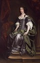 Barbara Villiers seated by Lely studio (location unknown to gogm)