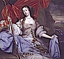 1670(?) Barbara Palmer (Villiers), first Duchess of Cleveland by John Michael Wright (National Portrait Gallery, London)