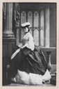 Beatrix Craven wearting a hat by Camille Silvy (Paul Frecker) detint photo, not border