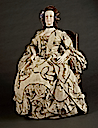 British robe à la française for court (sack gown) (Los Angeles County Museum of Art - Los Angeles, California USA)