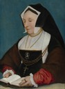ca. 1530 Lady Alice More by follower of Hans Holbein (private collection) possibly from Weiss Gallery Web site