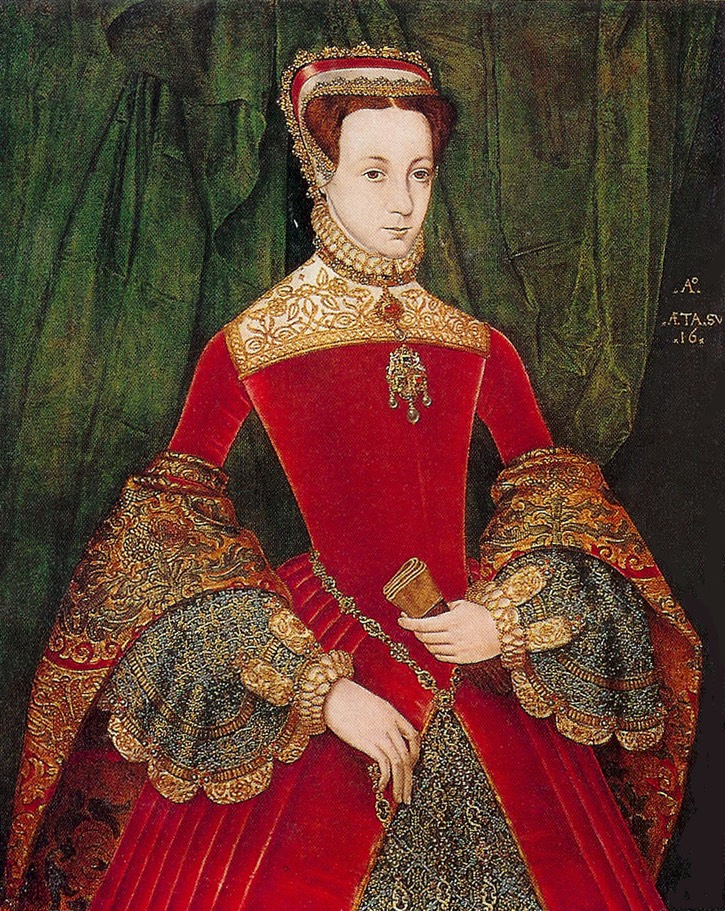 ca. 1555 Mary Fitzalan, Duchess of Norfolk, by Hans Eworth (private collection) Wm despot deflaw