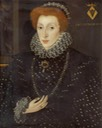 ca. 1575 Lady Frances Sidney (1531–1589), Countess of Sussex, Foundress of Sidney Sussex College attributed to George Gower (Sidney Sussex College, University of Cambridge - Cambridge, Cambridgeshire, UK) From artuk.org removed linear flaws in bckgnd