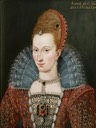 ca. 1595-1603 Anne of Denmark by Isaac Oliver (UK Government Art Collection)