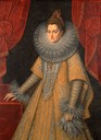 ca. 1598 Isabella Clara Eugenia by Frans Pourbus the Younger (Isabella Stewart Gardner Museum - Boston, Massachusetts USA)