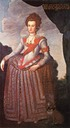ca. 1600 Anna Katharina von Brandenburg by ? (location unknown to gogm)
