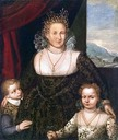 ca. 1600 Lady and Her Children by Francesco Montemezzano (private collection)