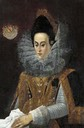 ca. 1610 Magdalena von Bayern by Peter de Witte (Candido) (auctioned by Christie's)