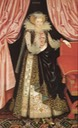 ca. 1614-1618 Lady Dorothy Carey (?), later Viscountess Rochford by William Larkin (Ranger's House - London UK)