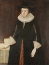 ca. 1620 Lady Hawkins (d.1620) by ? (Lady Hawkins School - Hereford UK)
