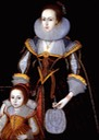 ca. 1620 Margaret Phesant and her mother by follower of Paul Van Somer (sold by Philip Mould) From historicalportraits.com:Gallery.asp X 1.5