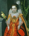 ca. 1620 Unknown Princess with a Parrot by Frans Pourbus the Younger (location ?) From liveinternet.ru/users/marylai/post292224371/.jpg
