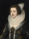 "ca. 1623 Elizabeth Stuart, Queen of Bohemia, the ""Winter Queen"" by workshop of Michiel Jansz. van Miereveldt (auctioned by Sotheby's) Wm"