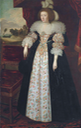 ca. 1630 Martha, Countess of Lindsey (1605-1641) by ? (auctioned by Christie's) From Christie's Web site inc. exp. dec. temp