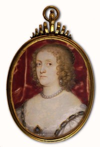 ca. 1635 Anne Clifford attributed to Peter Oliver (St Michael's Mount, Cornwall)