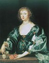 ca. 1635 Anne Crofts by Sir Anthonis van Dyck (private collection) From pubhist.com/w12847 shadows inc. exposure despot X 4/3