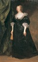 ca. 1635 Christian Cavendish, Countess of Devonshire by Sir Anthonis van Dyck (Columbus Museum of Art - Columbus, Ohio, USA)