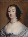 ca. 1638 Elizabeth Howard, Countess of Peterborough probably by Sir Peter Lely (location unknown to gogm)