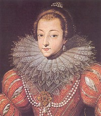ca. 1640 Christine Marie of France by ? (location unknown to gogm) Wp