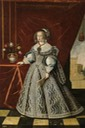 ca. 1646 Mariana of Austria, Queen consort of Spain by Frans Luyckx (Museo del Prado - Madrid, Spain) Wm