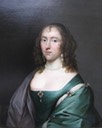 ca. 1650 Lucy, Baroness Pelham of Laughton (1630-1685) by Cornelius Johnson (sold by Roy Precious)