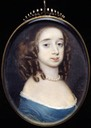ca. 1655 Elizabeth Capell, Countess of Carnarvon by Richard Gibson (Fitzwilliam Museum - Cambridge, Cambridgeshire UK)