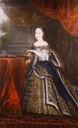 ca. 1661 Henriette d'Angleterre some time after her marriage by ? (location unknown to gogm)