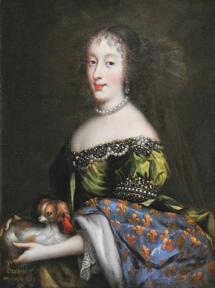 Princess Henrietta Anne (1644-1670), Duchess of Orleans, 'Minette'