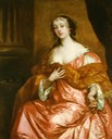 1663 Elizabeth Hamilton, Countess of Gramont by Sir Peter Lely (location unknown to gogm)