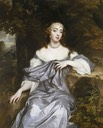 ca. 1665 Windsor Beauty Frances Brooke, Lady Whitmore by Sir Peter Lely (Royal Collection - Hampton Court Palace, Richmond upon Thames, London, UK) From pinterest.com:MariaLouisRyan:dames-de-la-noblesse-favorites-déesses-beautés-div: despot