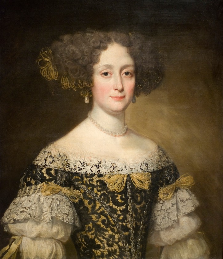 ca. 1675 Anna Caffarelli Minuttiba by Jacob Ferdinand Voet (Fine Arts Museums of San Francisco, Palace of the Legion of Honor - San Francisco, California USA) From Maulleigh's photostream on flickr