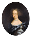 ca. 1680 Jeune Dame De Qualité by school of Pierre Mignard (Galerie FC - Paris France)