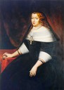 ca. 1675 Marie Jeanne de Savoie, Duchess of Savoy (Ducal Palace of Modena - Modena Italy)