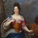 ca. 1695 Madame de Maintenon by Pierre Gobert studio (for sale by Timothy Langston) From onlinegalleries.com:art-and-antiques:detail:studio-of-pierre-gobert-portrait-of-madame-de-maintenon:274965 despot