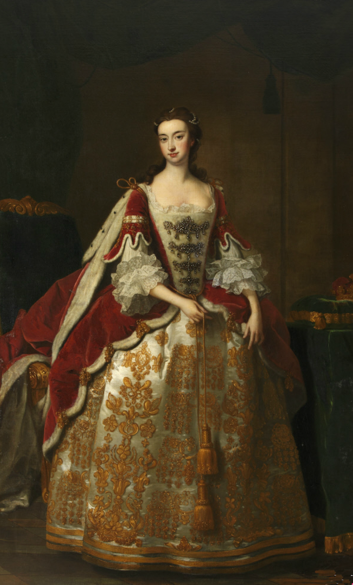 ca. 1710 Elizabeth Colyear, Duchess of Dorset attributed to Hans Hysing (Knole - Sevenoaks, Kent, UK) From nationaltrustcollections.org.uk:object:129907 size fixed