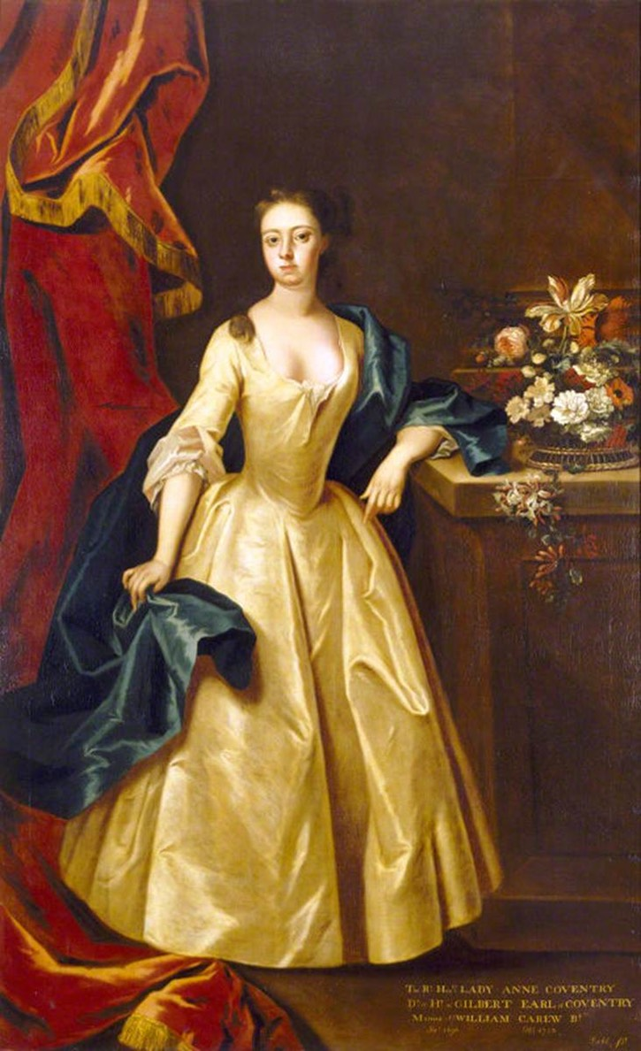 Anne Coventry (1695/1696-1733), Lady Carew