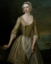 ca. 1725-1730 Catherine Douglas, née Hyde, Duchess of Queensbury by Charles Jervas