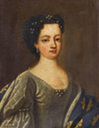 ca. 1726 Portrait identified as Auguste of Baden-Baden as Duchess of Orléans by ? (possibly Pierre Gobert)