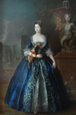 ca. 1730 Anna Karolina Orzelska by Antoine Pesne (location unknown to gogm)