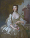 ca. 1735 Lady of the Orlebar family by John Vanderbank (for sale by Roy Precious) X 2