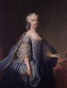 ca. 1738 Princess Amelia of Great Britain by Jean Baptiste van Loo (auctioned by Sotheby's)