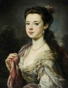 ca. 1741 Lady Dorothy Boyle (1724–1742), Countess of Euston by George Knapton (Hardwick Hall - Chesterfield, Derbyshire UK)