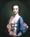 ca. 1740 Lady, said to be Jenny Cameron of Lochiel by Allan Ramsay (Philip Mould)