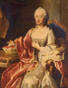 ca. 1740 Maria Anna of Sulzbach attributed to either Georg Desmarées or Jacopo Amigoni (auctioned by Sotheby's) From the Sotheby's Web site