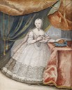ca. 1740 Maria Theresia im Spitzenkleid by ? (location unknown to gogm) Wm despot