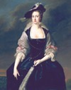 ca. 1741 Frances Courtenay, née Finch, wife of William Courtenay, 1st Viscount Courtenay by Thomas Hudson (Huntington Library, Art Collections, and Botanical Gardens - San Marino, California USA)